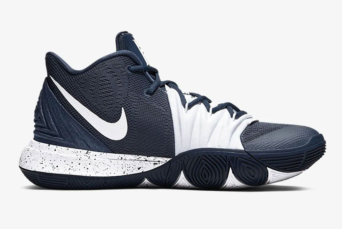 Nike Kyrie 5 Gear Up Midnight Navy Side1