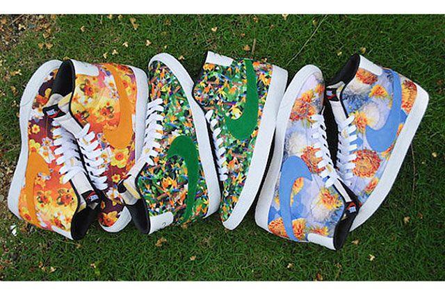Nike Blazer Mid Premium Vintage Floral Pack Feature