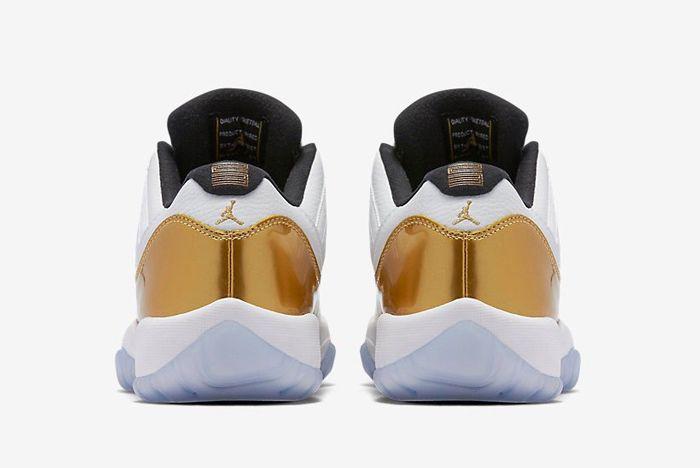 Air Jordan 11 Low Metallic Gold 2