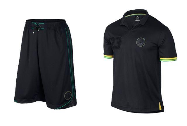 Jordan Brand 2014 Brazil Apparel Collection 1