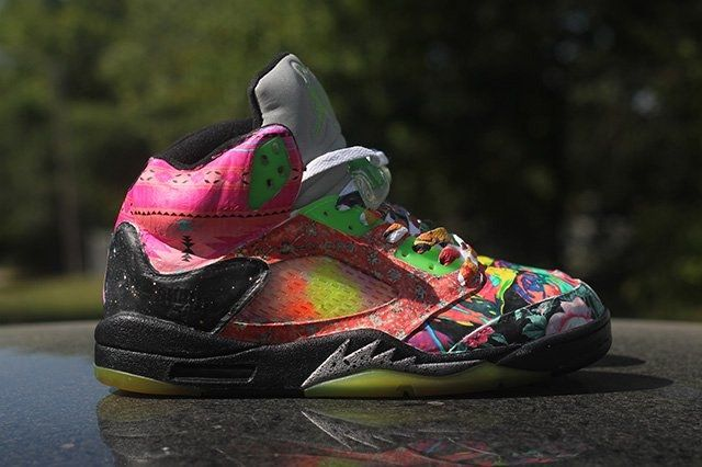 Rbn Custom Air Jordan 5 What The Fresh Prince 2