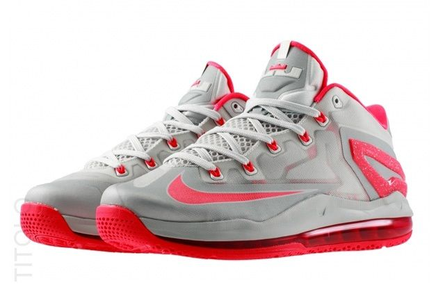 Nike Lebron 11 Low Laser Crimson 1