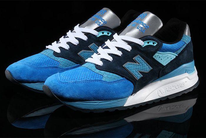 New Balance 998 Blue Navy Sneaker Freaker Copy