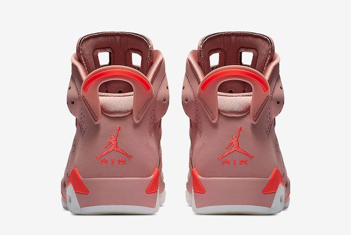 Aleali May Air Jordan 6 Millennial Pink Ci0550 600 Release Date Price Heel