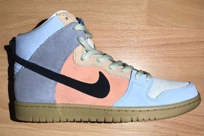 Nike Sb Dunk High Spectrum Lateral Side