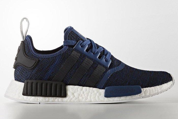Adidas Nmd R1 March 2017 Blue Black By2775 1