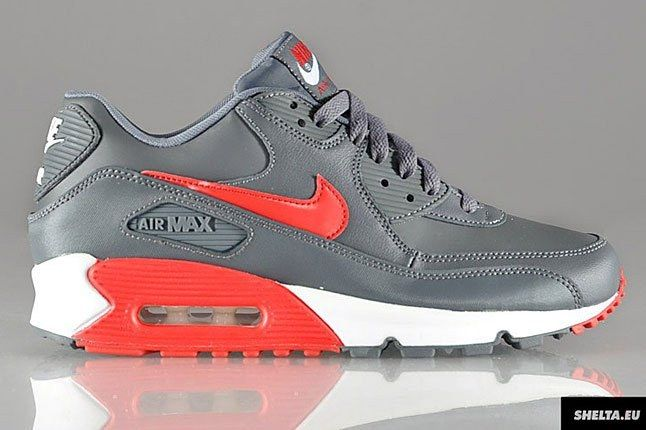 Nike Air Max 90 Red Grey 1