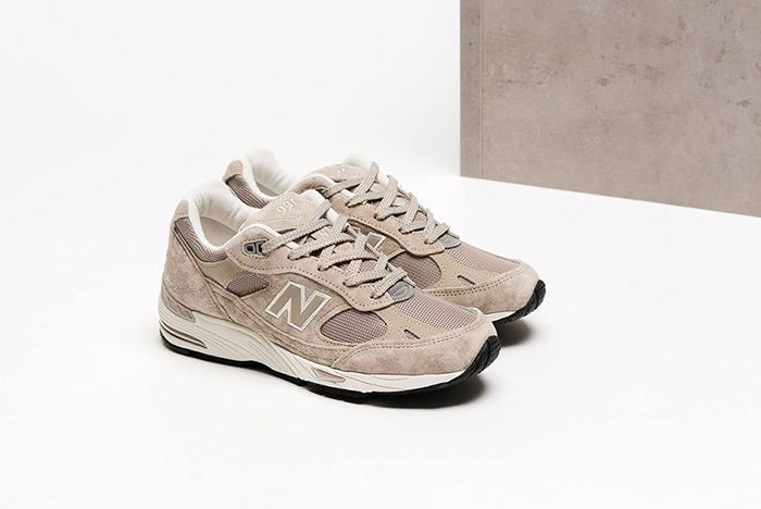New Balance 991 Fall 2017 Tan Grey 2
