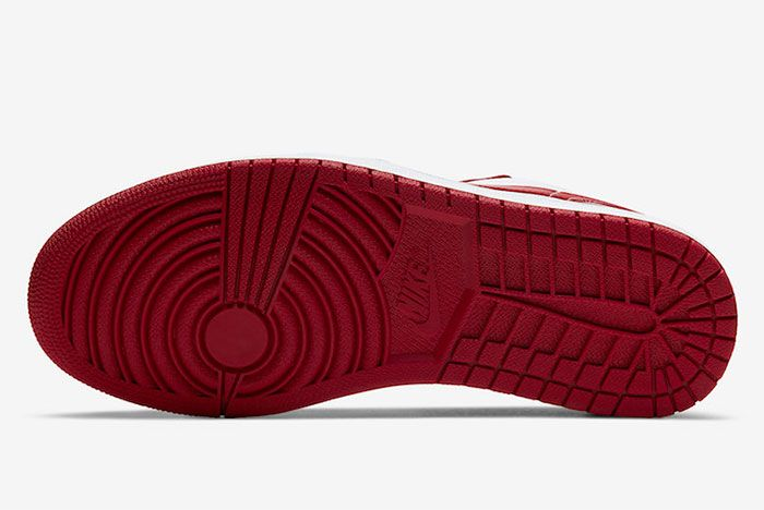 Air Jordan 1 Low Gym Red White 553558 611 Release Date Price 1Official