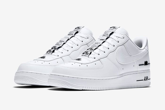 Nike Air Force 1 Low Double Air Cj1379 100 Release Date 4 Official