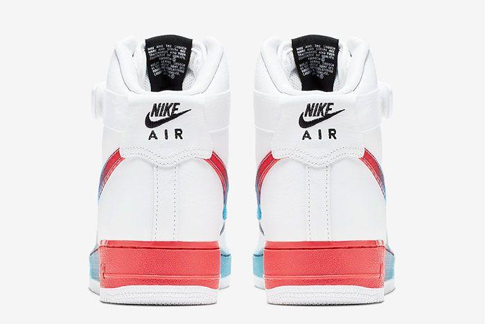Nike Air Force 1 Neon Seoul Heel