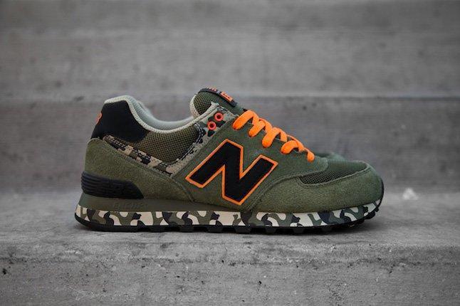 New Balance 574cgr (Orange Camo) - Sneaker Freaker