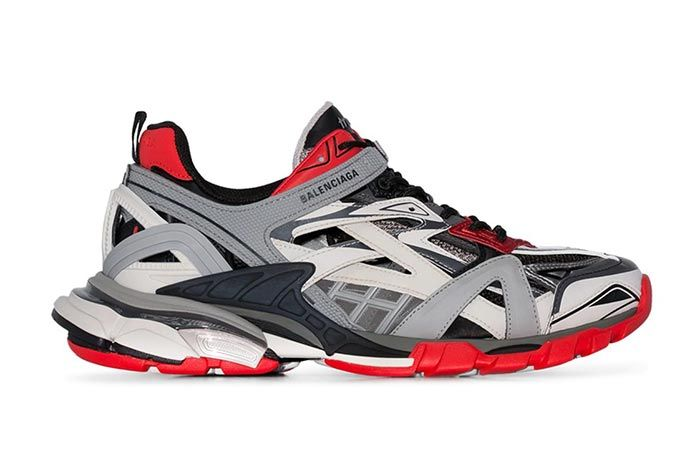 Balenciaga Track 2 Red Grey
