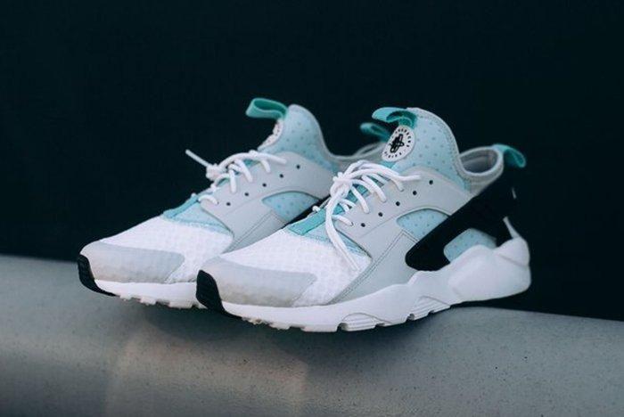 Nike Air Huarache Run Ultra Platinumigloo 9