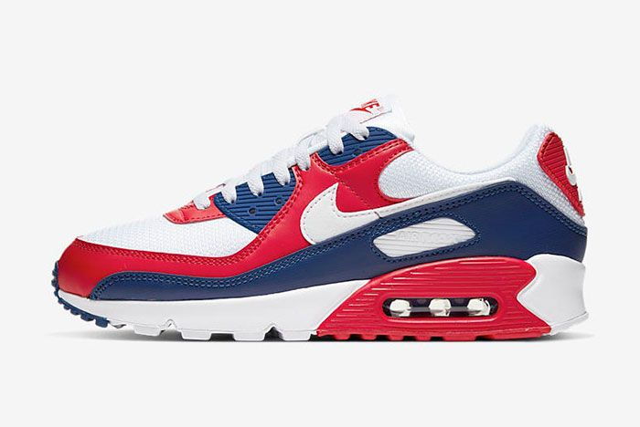 Nike Air Max 90 Cw5456 100 Lateral Side Shot