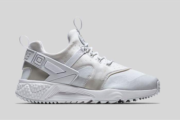 Nike Air Huarache Utility Triple White 1