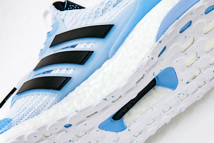 Game Of Thrones X Adidas Ultra Boost On White White Walker Up Close2