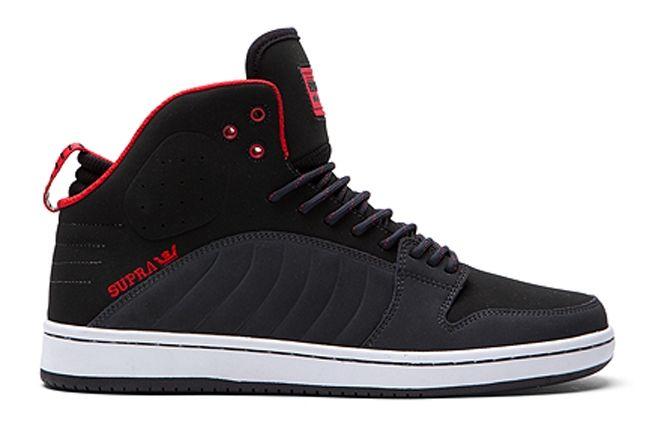 Supra S1W Black Red Profile 1