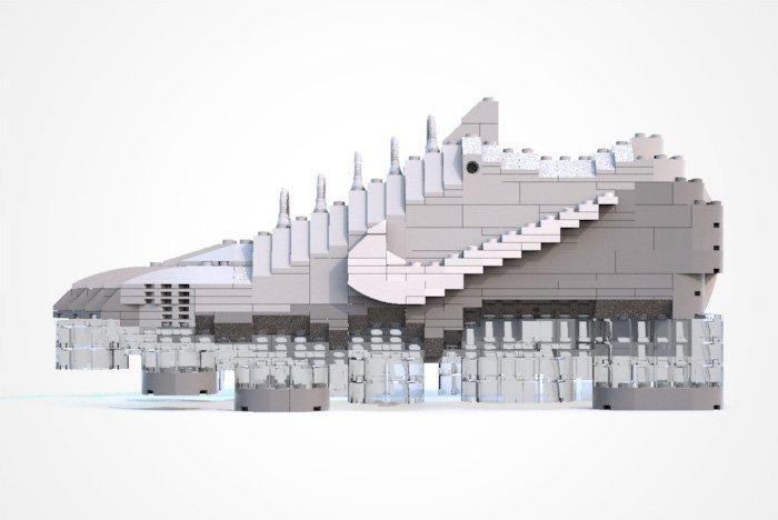 Tom Yoo Lego Nike Air Vapormax 1