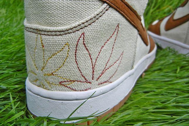 Jbf Customs Nike Dunk Sb Bob Marley Heel Detail