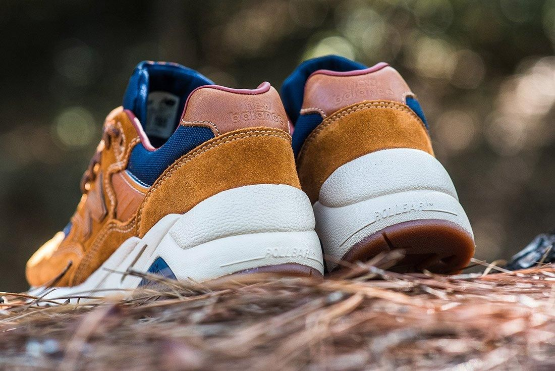 New Balance 580 Brown Leather 2
