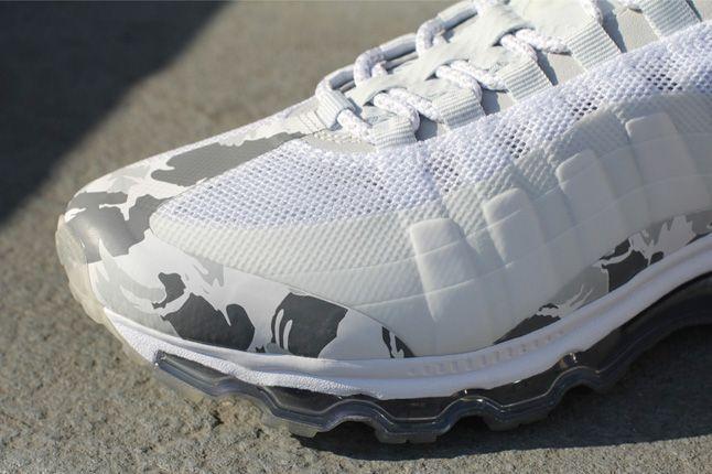 Nike Air Max 95 Bb Snow Camo Toe Detail 1