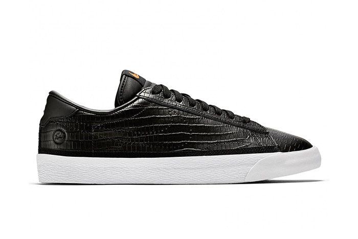 Fragment Nike Tennis Classic Ac Black Croc 2