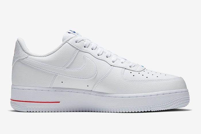 Nike Air Force 1 Low Nba Paris Cw2367 100 Medial