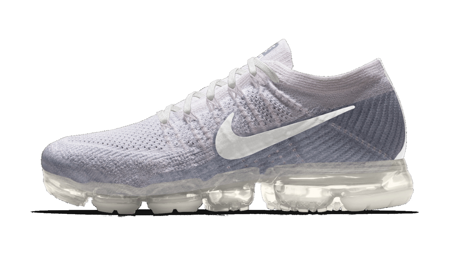 Nikeid Air Vapormax White Clear