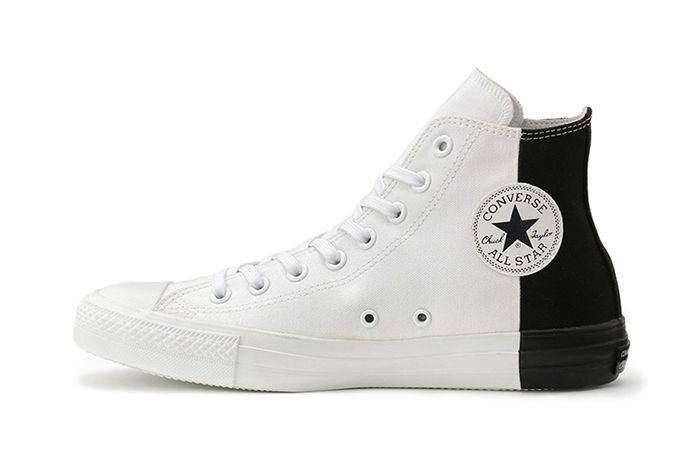 Converse Japan Chuck Taylor Monopanel Hi White Black Left