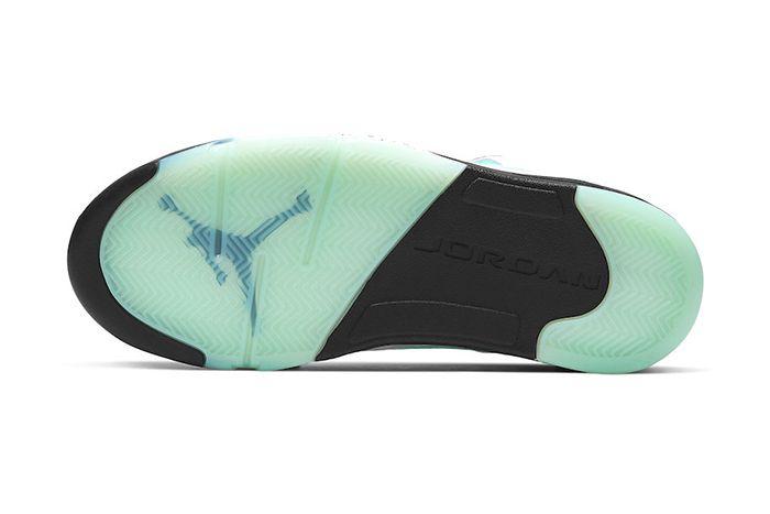 Air Jordan 5 Island Green Cn2932 100 Release Date Outsole