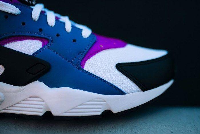 Nike Air Huarache Blue Jay 4