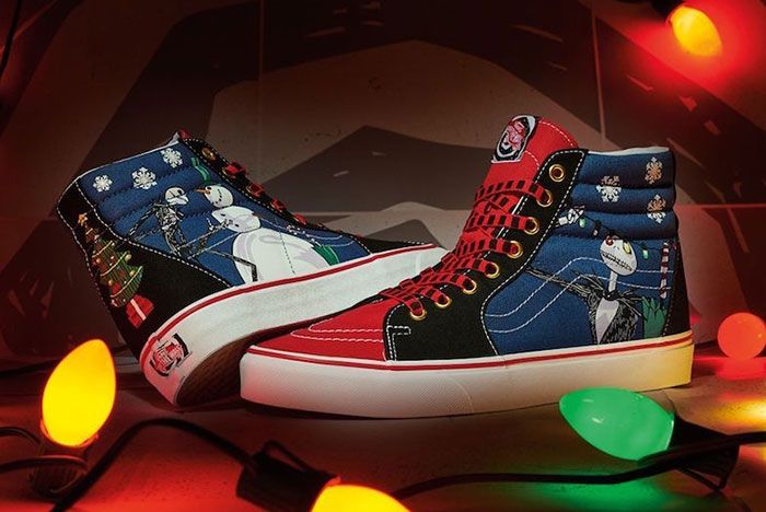 The Nightmare Before Christmas Vans Sk8 Hi Christmas Town Release Date 1