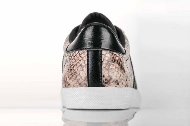 Adidas Mc Low Snake Skin Natural Heel Profile 1