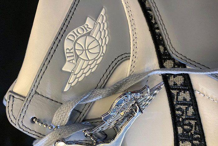 Air Dior Air Jordan 1 Daniel Arsham Leak Shots1