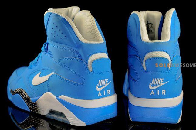 Nike Air Force 180 High Photo Blue Pair Heel 1