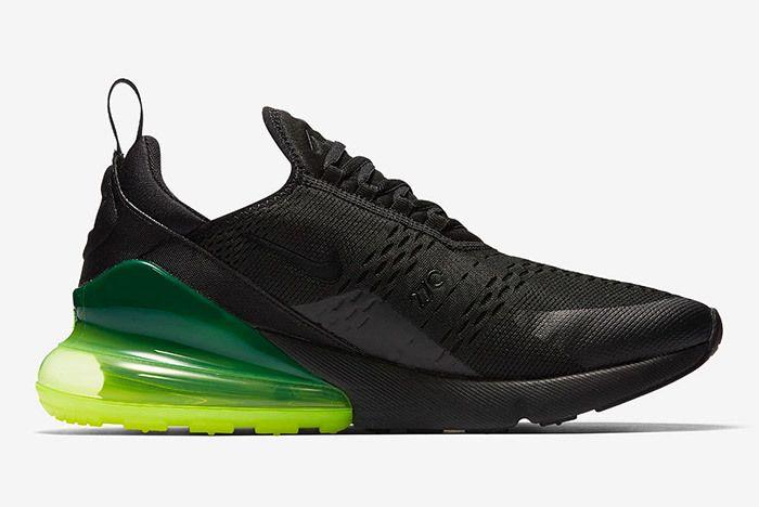 Nike Air Max 270 Black Neon 3