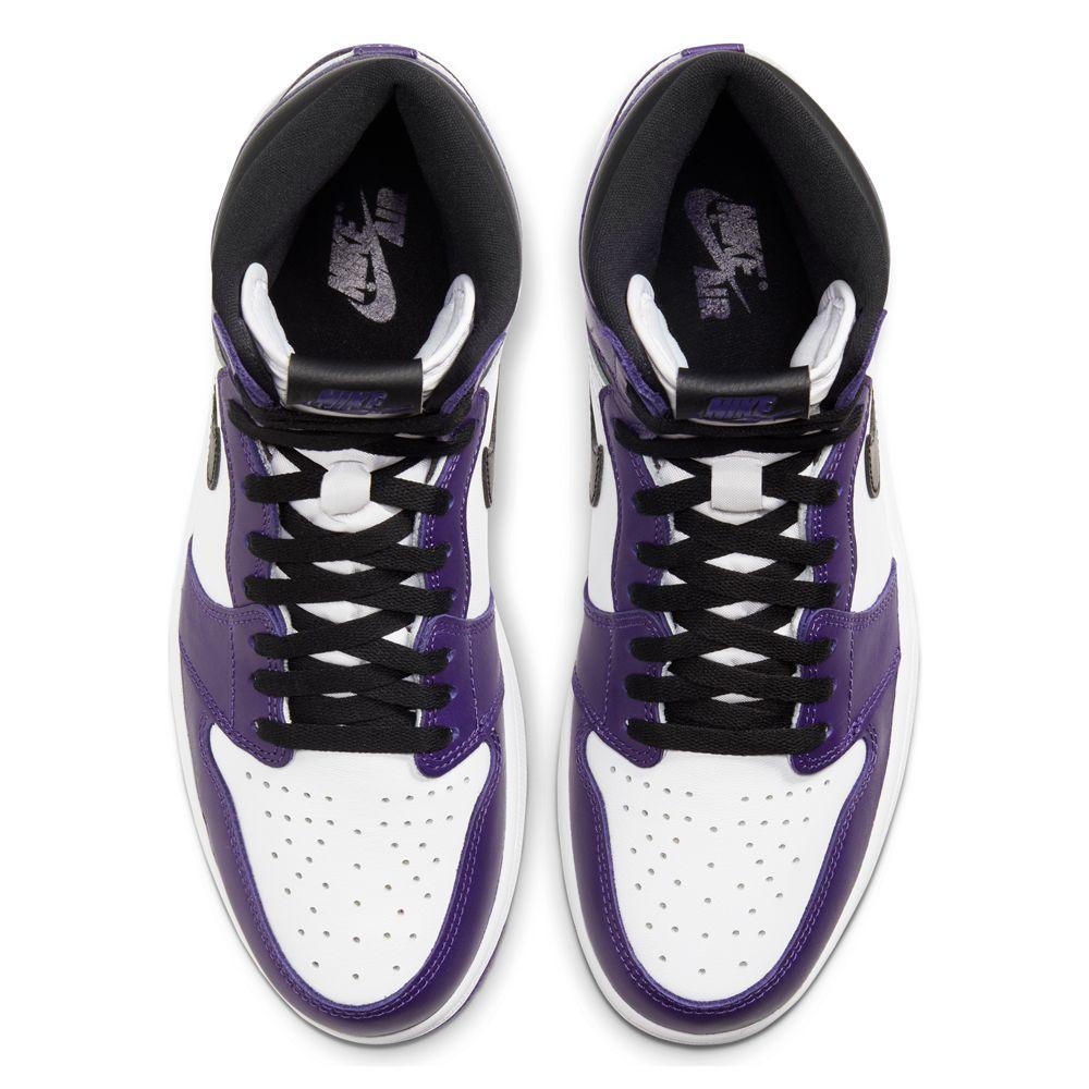 Air Jordan 1 Court Purple top shot