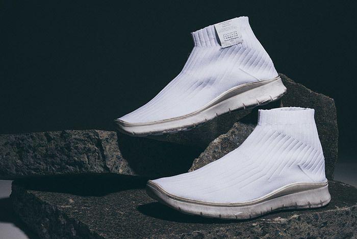 Maison Margiela Knit Sock Boot White 5