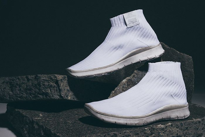 Maison Margiela Knit Sock Boot White 5
