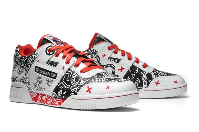 Reebok Keith Haring Workout Plus Angle 1