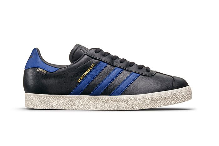 Adidas Gazzelle Gtx City Pack Black Blue St Petersburg 2