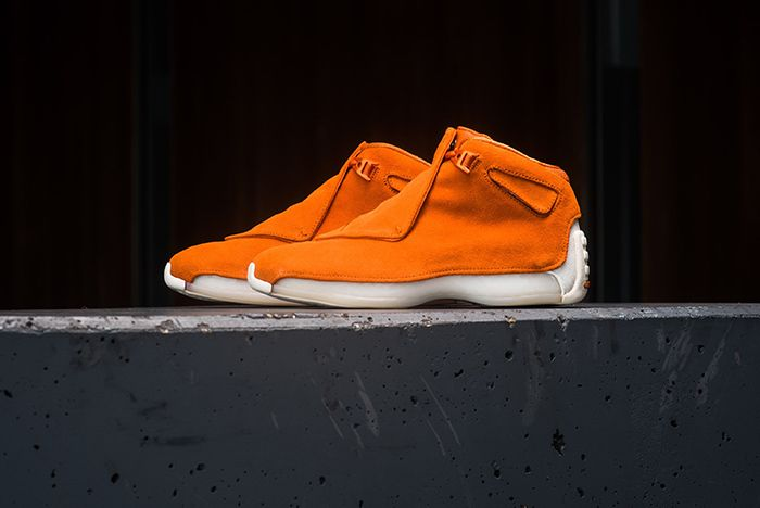 Air Jordan 18 Retro Premium Suede 2018 4