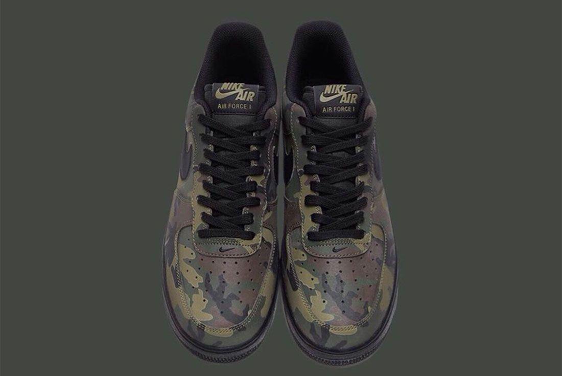 Nike Air Force 1 Camo Reflective 6