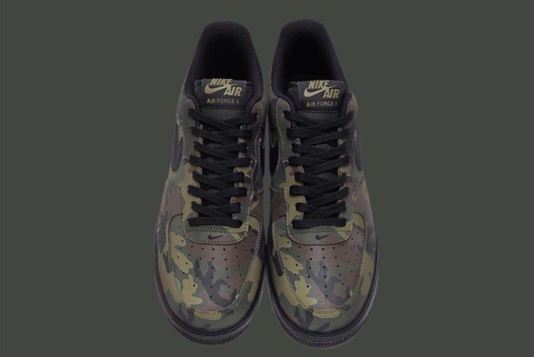 Nike Air Force 1 Camo Reflective 6