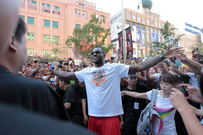Lebron Nike China Tour 1