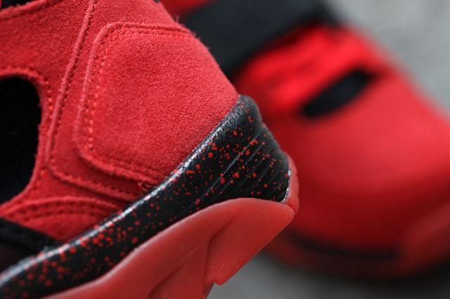 Nike Air Trainer Huarache Red Black 3