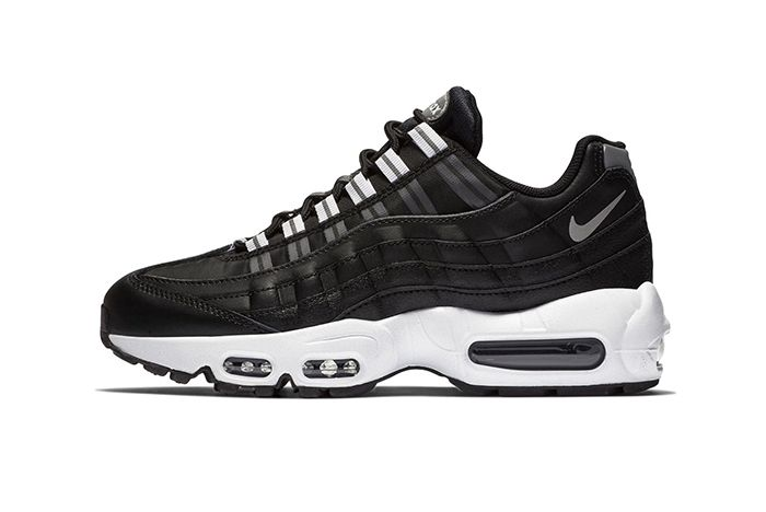 Nike Air Max 95 Black Reflect Silver 1