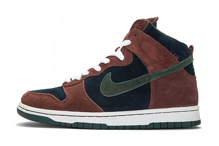 Nike Sd Dunk Mid Paul Brown Lateral Side