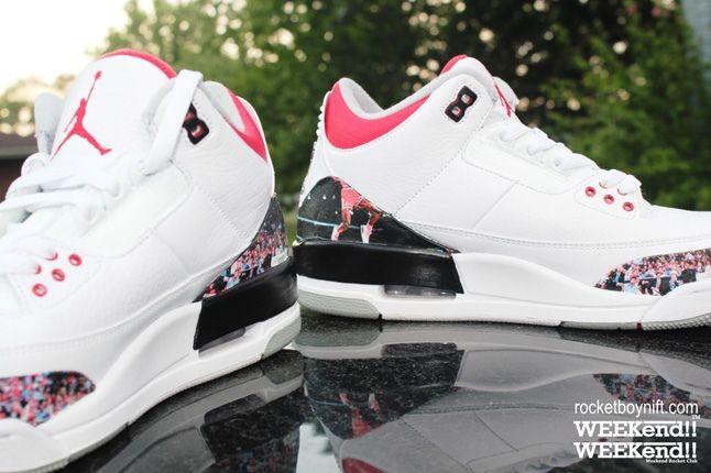 Rbn Custom Air Jordan 3 Dunk Contest 1